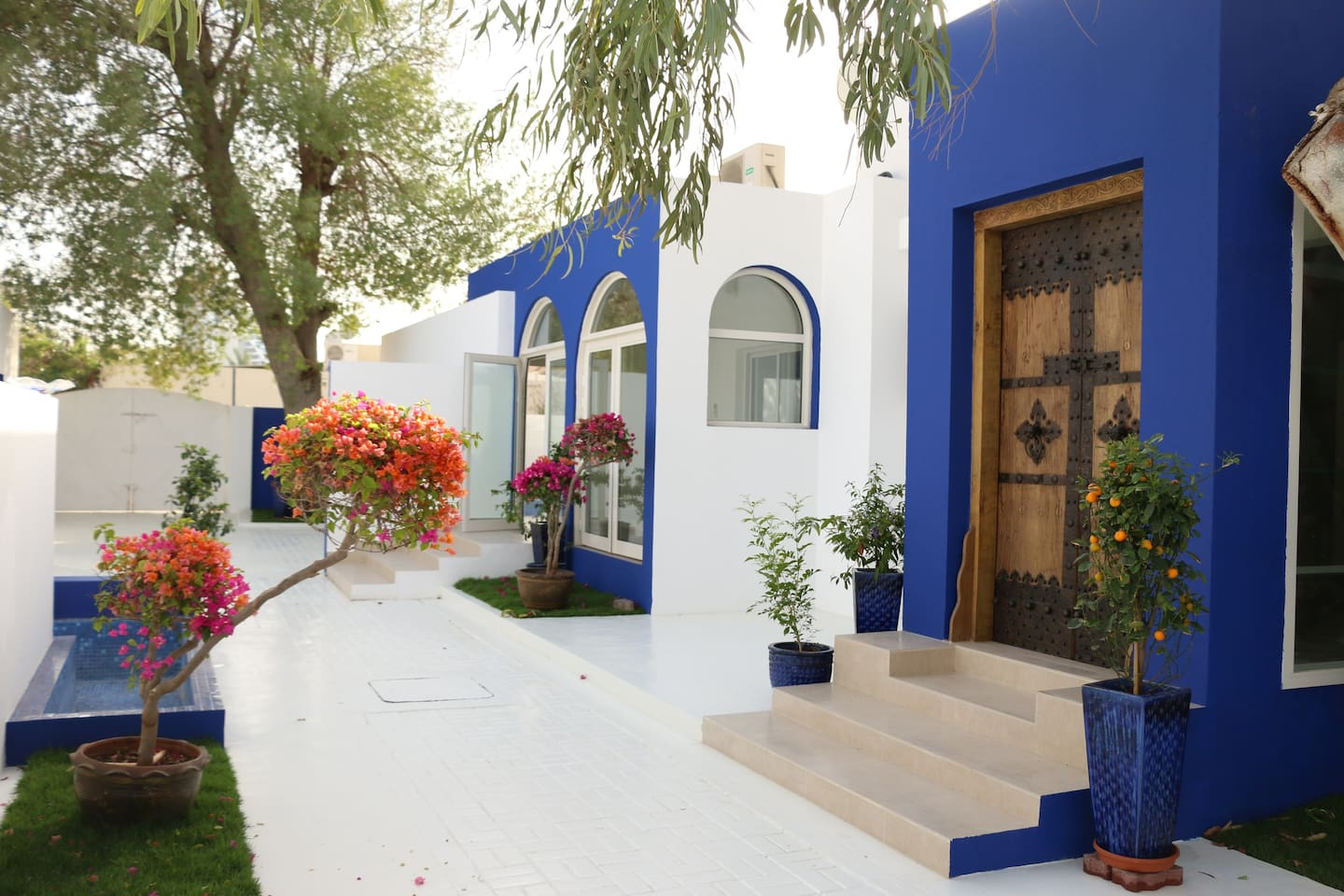 Beautiful Garden can be accessed by all the guests