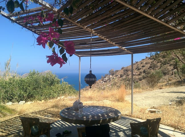 Fantastic accommodation - south coast of Crete - Lentas - Huis