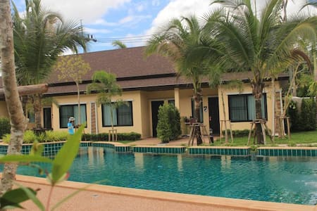 Oscar Pool Villa (Two - Bedrooms with Pool View ) - Tambon Ao Nang - วิลล่า