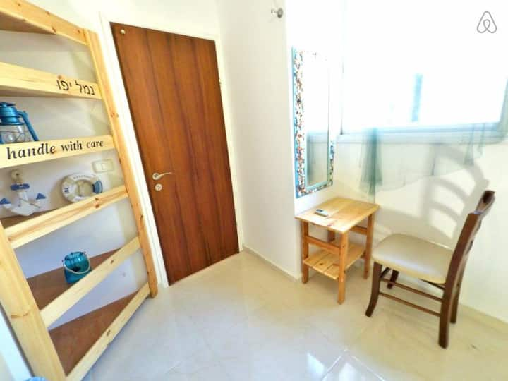Private room close to the beach, for cat lovers!