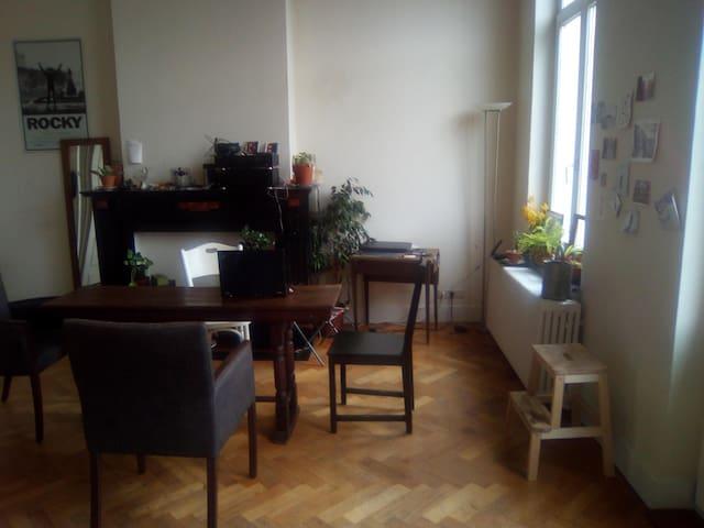 Bel appartement 90m2 à St Gilles, prox Chatelain - Saint-Gilles - Wohnung