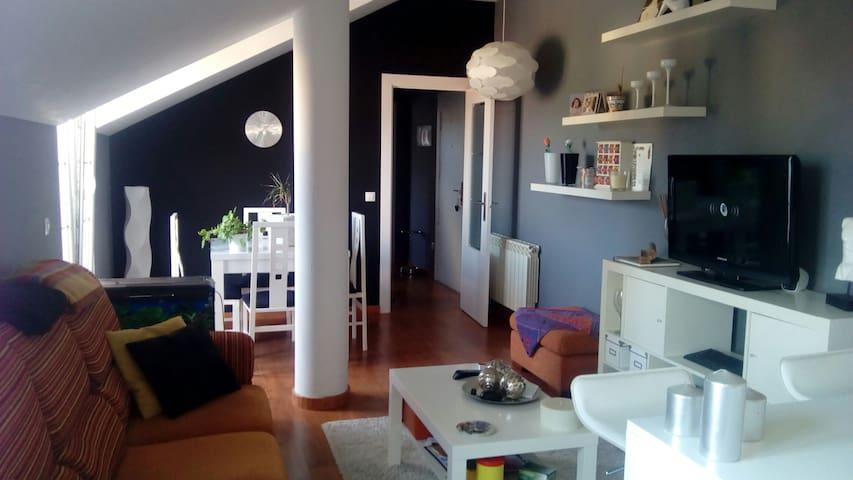 Atico de 1 habitacion, perfecto para parejas. - Castañeda - Apartemen