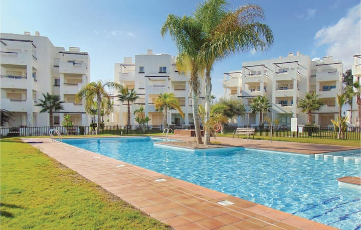 Beautiful home in Torre-Pacheco with 2 Bedrooms