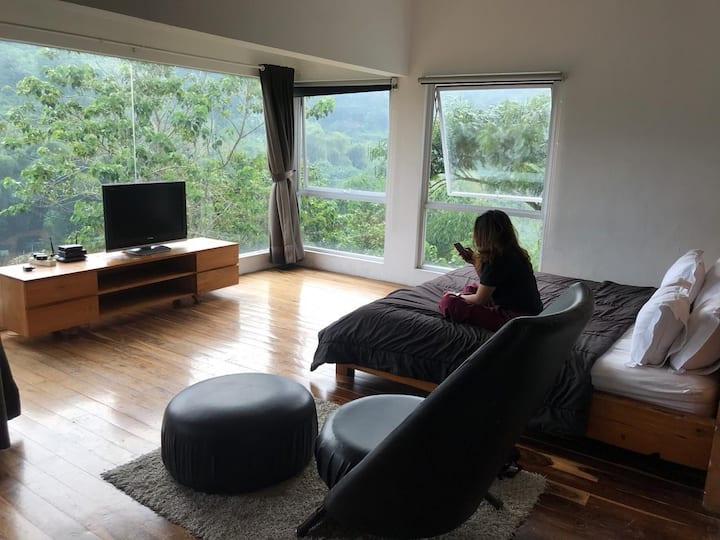 Villa di dago bandung dg view lembah yang cantik