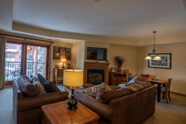 Comfortable 1 Bedroom Condo - Slopeside