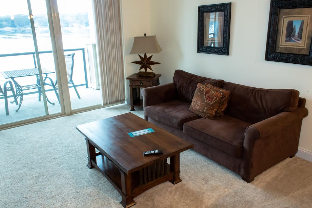 Wisconsin Dells Getaways #418 Living Area