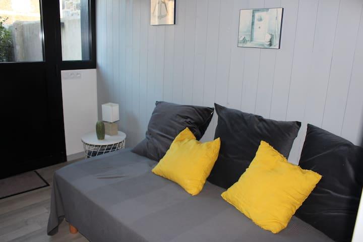 Salon - lit simple-aile n°2