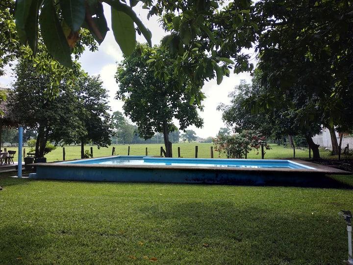 Casa de campo en Tapachula