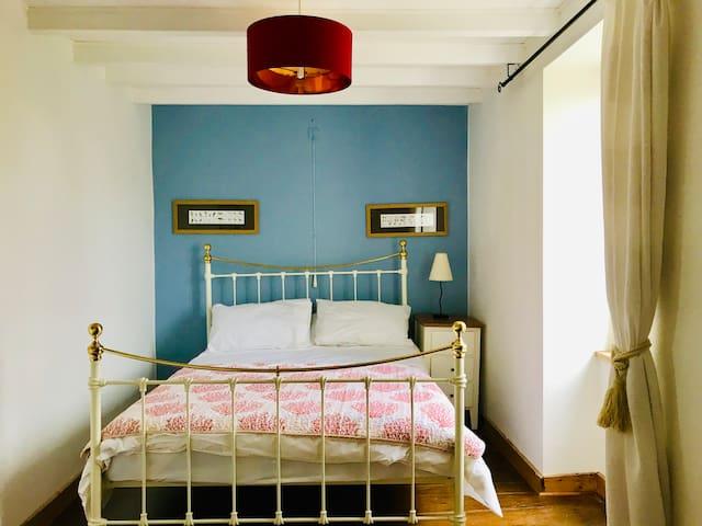 La Blatière, The Farmhouse double bedroom