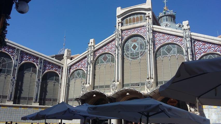 fachada mercado central