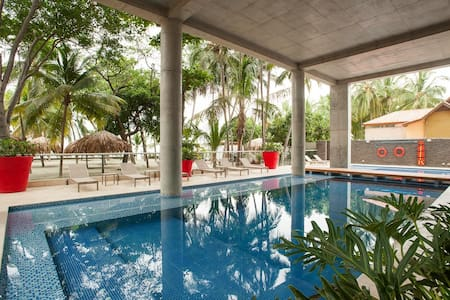 Wonderful APT with private beach - Santa Marta - Wohnung