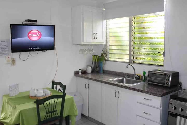 Beautiful furnished studio apartment