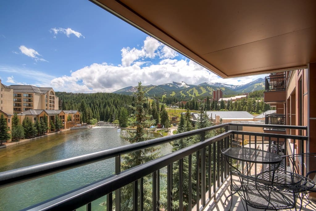 Spend countless hours on the unit's private balcony, enjoying the breathtaking views and crisp mountain air.