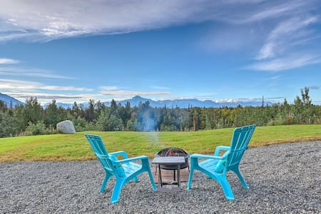 Secluded Palmer Home w/ Mountain Views!
