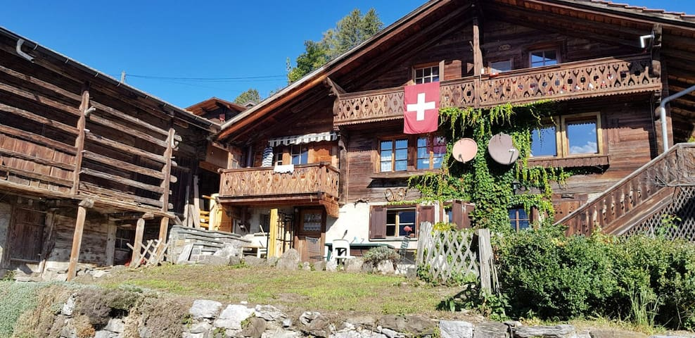 Chalet in Gryon-for the winter season 19/20