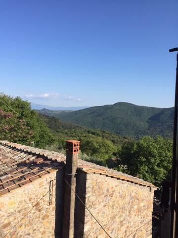 Casa Storica Nel Borghetto Toscano - Iesa  - Casa