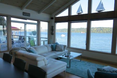 Beachfront Home - Spectacular view of Puget Sound - 吉格港(Gig Harbor)