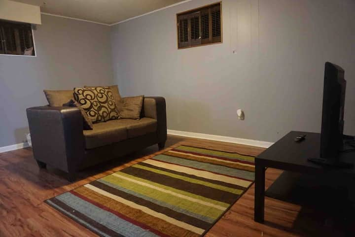 Basement Apartment near Research Park
