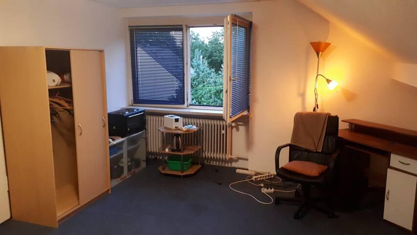 Cozy Zimmer groß Augsburg-Haunstetten Uninähe