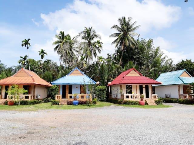 2 Bed Bungalow, Riverside Palm Resort, Surat Thani