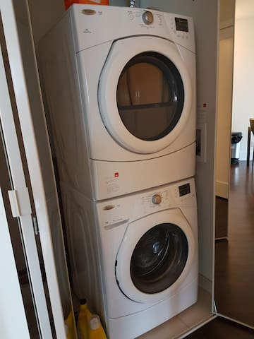 In-suite Stacked Washer & Dryer