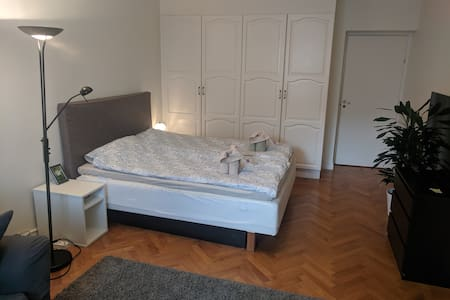 Large, comfortable room close to central station