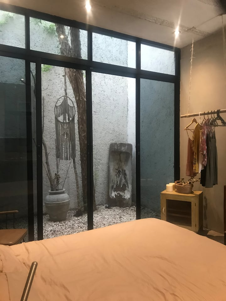 Cozy Private Loft in Tulum Downtown + Daily Yoga