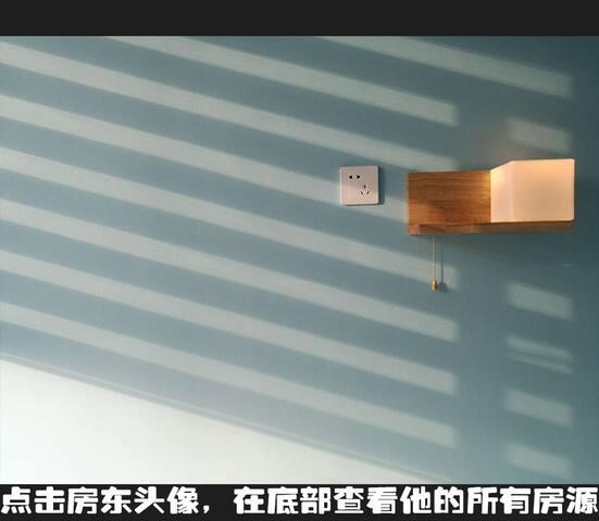 无保洁费【蓝 · 建筑师的家】地铁口60米 &可寄存行李  & 武侯祠锦里