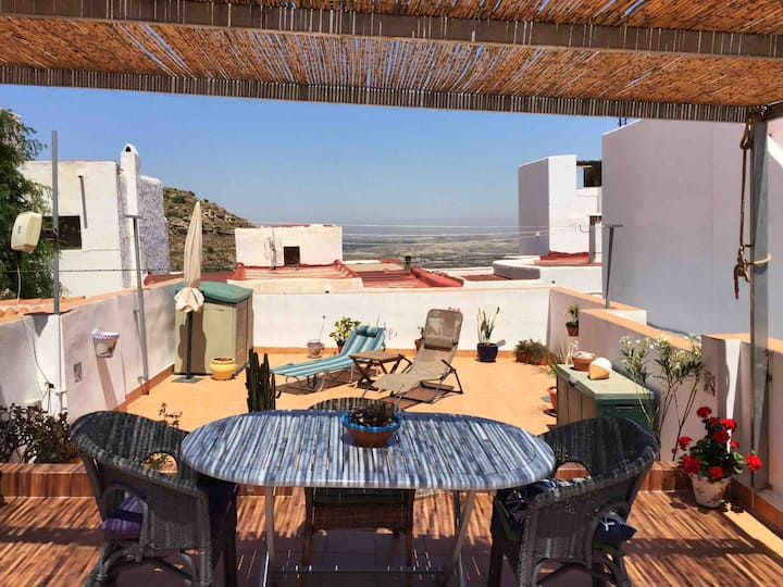 La Isla Bonita - Mojacar house on the hill