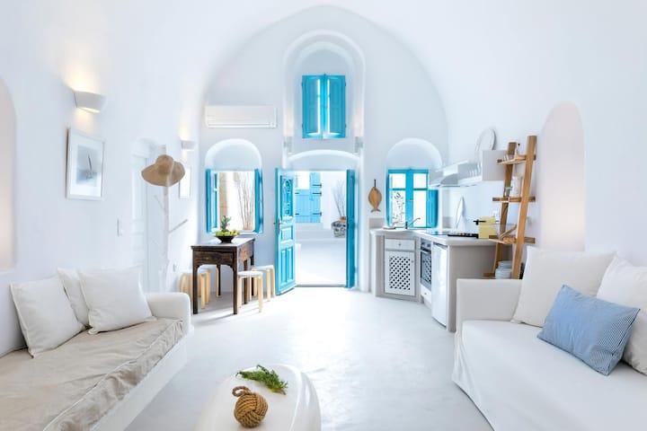 Kalamia ~ Villa with Jacuzzi and Sea View