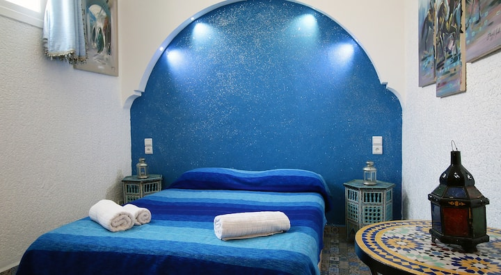 Riad les chtis d'agadir Chambre Essaouira Pistache