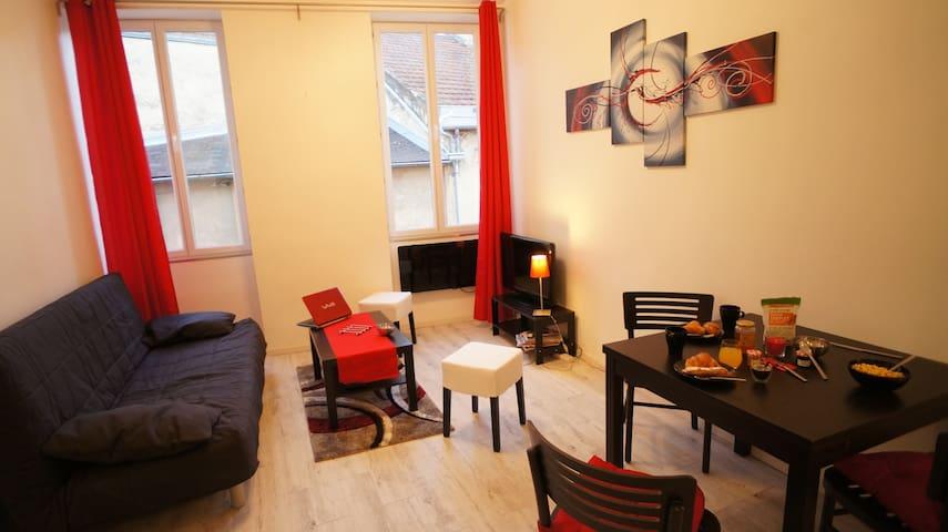 Appartement de charme au coeur de Beaune (4Pers.) - Beaune - Wohnung