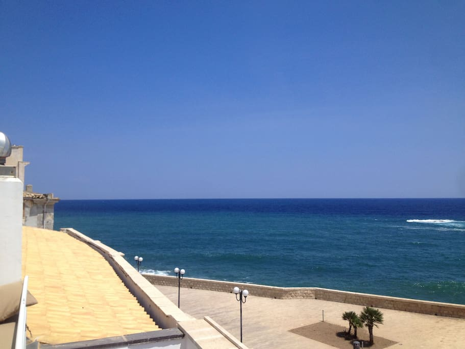 180° view over the Mediterranean