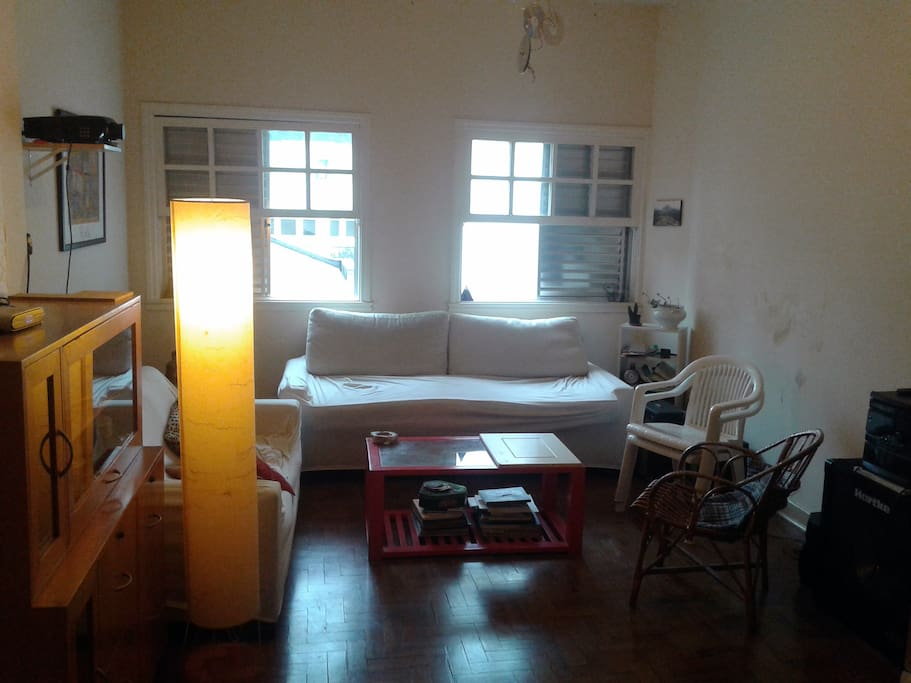 Living room (view from your room)
