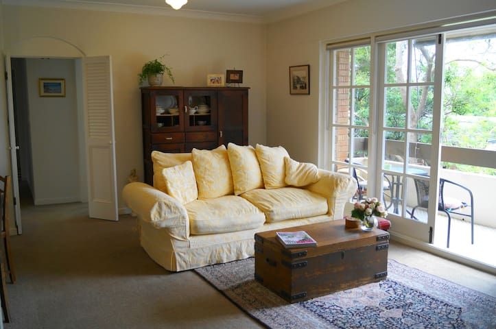 Comfortable Sunny Room in Leafy Lindfield - Sydney - Leilighet