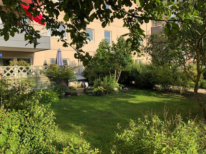 Fräsch lägenhet nära Stockholms city