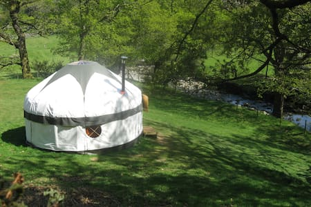 Inside Out Yurts at Seatoller Farm (2)