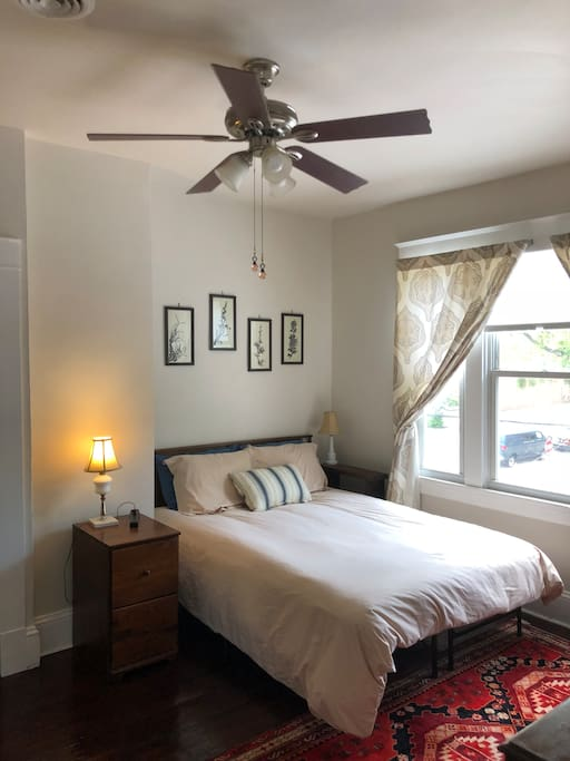 Ceiling fan and central air
