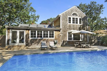 Designer home in Sag Harbor- 5 BR, 1 block 2 beach
