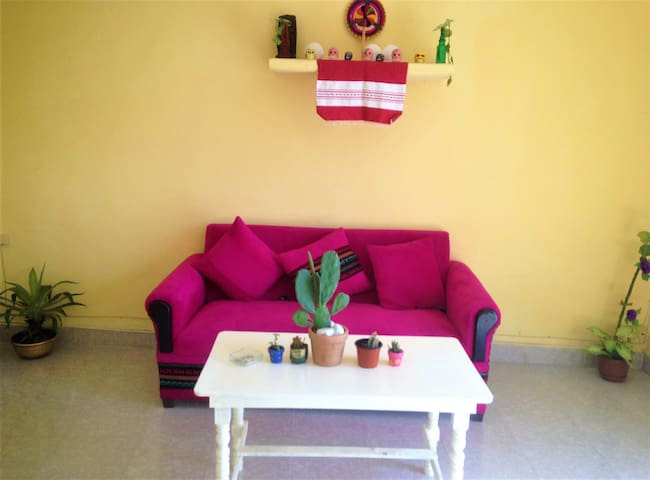 Your central house next to Cenote Zaci. 2 rooms.