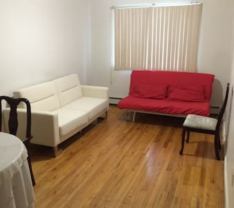 Amazing couch near Time Square in nice apartment - Queens - Appartamento
