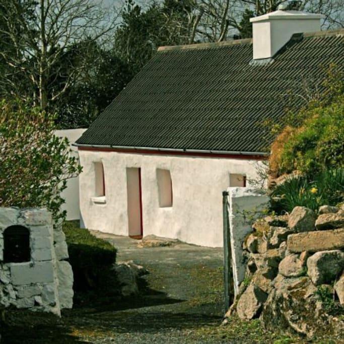 cottage 247 rosmuc cabanes louer galway county galway irlande. Black Bedroom Furniture Sets. Home Design Ideas