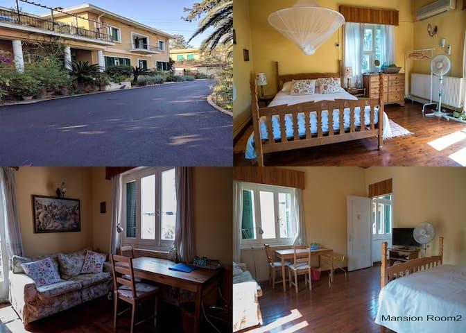 Mansion Room 2 Heart of City, Balcony & Parking - Nicosia - บ้าน