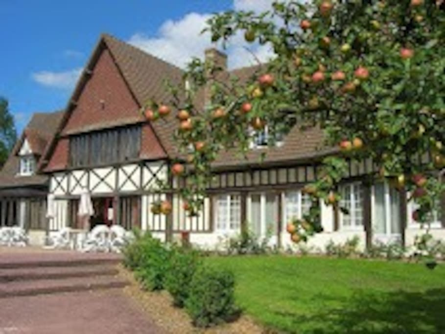 Chambre d 39 h tel axe caen cabourg hotels for rent in for Chambre hote cabourg