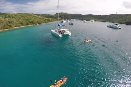Catamaran Charter All Incl BVI up to 4 Cabins