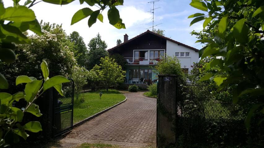 Vacances au pied des Vosges