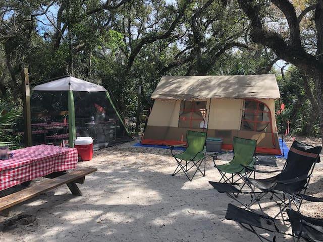 1,2,3 Camp Rig Rental/Set Up in St. Augustine Fl.