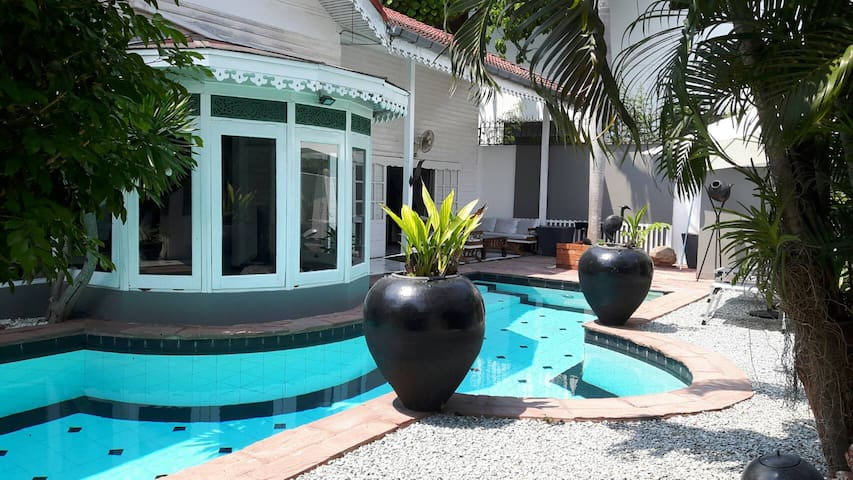 Amazing Villa 3 BDR with Private Pool in ❤ Pattaya