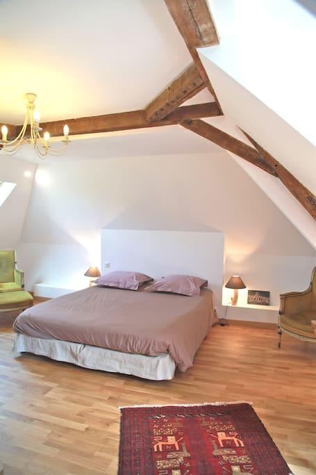 Bed breakfast bords de loire 1 chambres d 39 h tes for Chambre d hote valle de la loire
