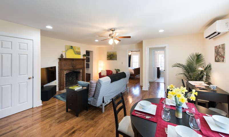 Spacious Condo in Walkable Historic Occoquan - Occoquan - Lyxvåning